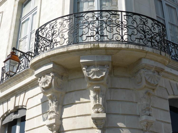 Détail d'un des balcons