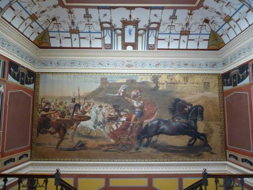 Fresque du grand escalier