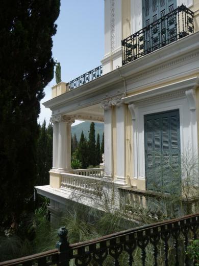Façade du côté de la colonnade, détail