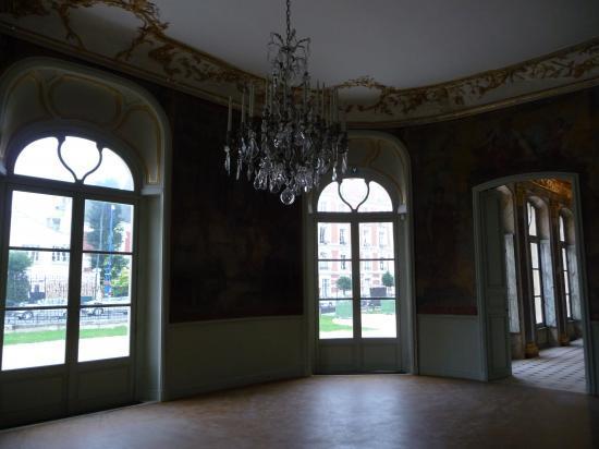 Salon central du château