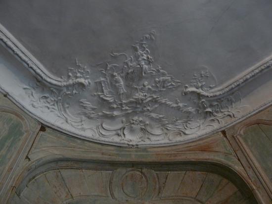 Grand salon, scène chinoise de la corniche