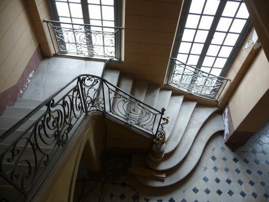 Grand escalier, détail