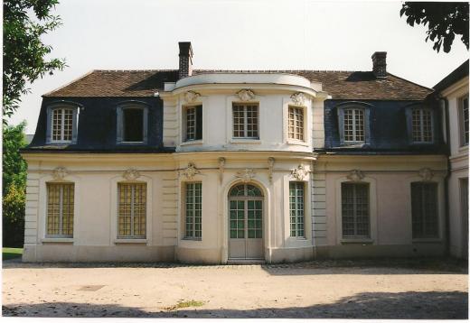 Maisons des Italiens, côté jardin (cliché Philippe Cachau)