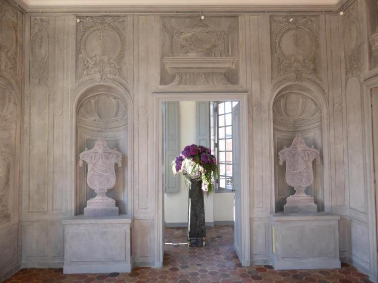 Détail de l'antichambre de Mme de Voyer par les Brunetti, 1er étage