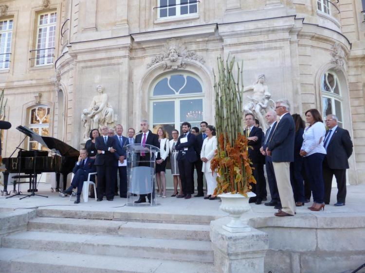 Discours du maire d'Asnières, Manuel Aeschlimann