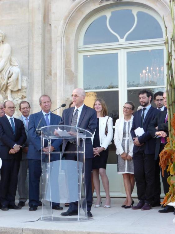 Discours du marquis Jean-Denis de Voyer d'Argenson