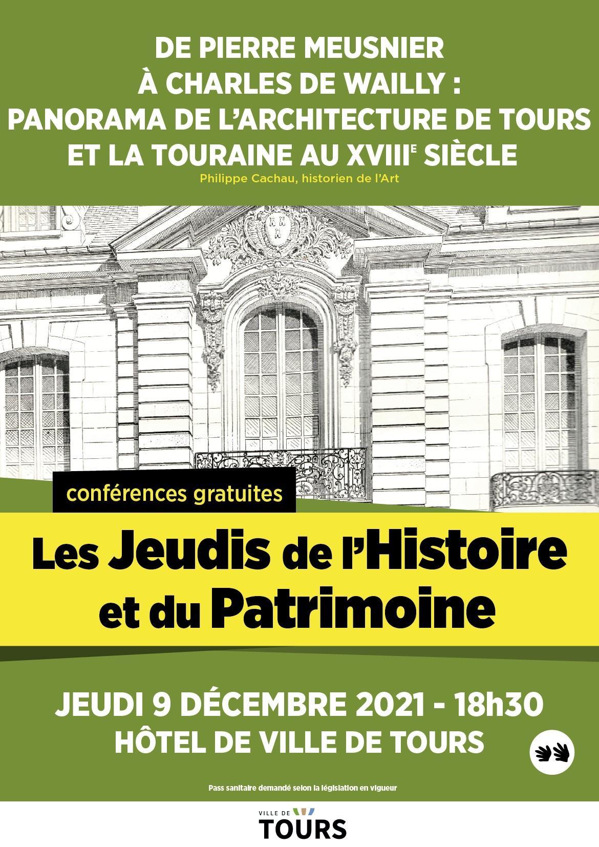 Affiche conference Tours 9 décembre 2021