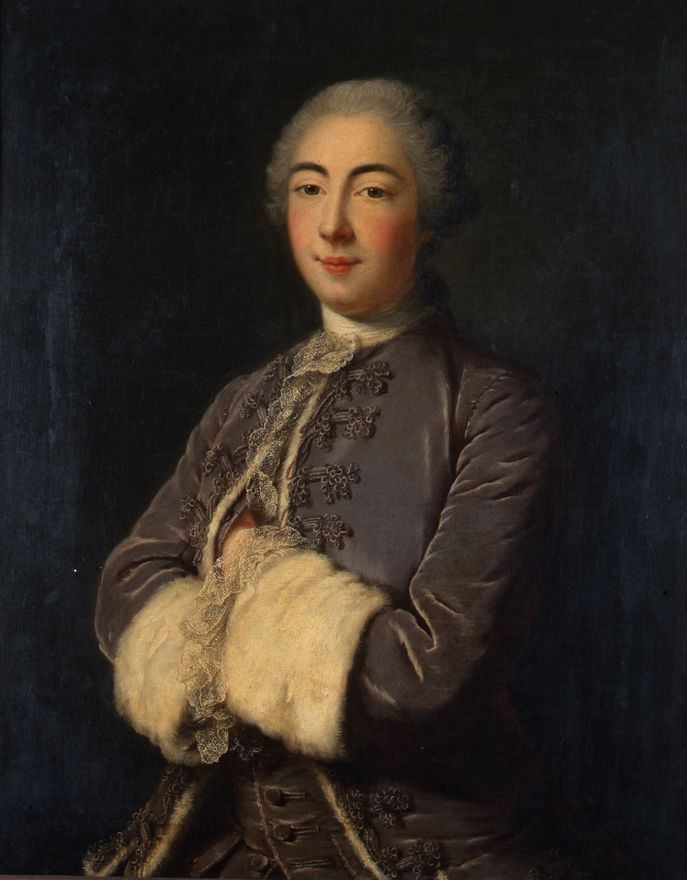 Louis Tocqué, Antoine VII Antonin, duc de Gramont, 1750 (Bayonne, Musée basque, collection Gramont)