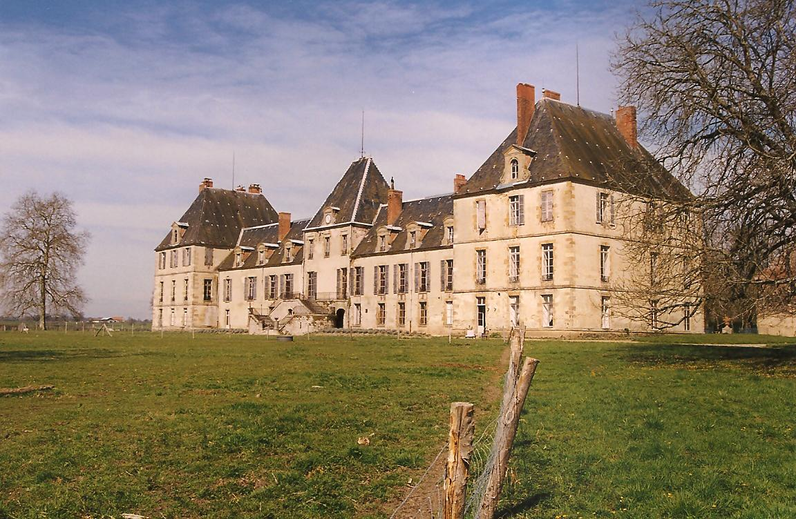Chateau de Lurcy-Lévis (Allier), cl. Ph Cachau