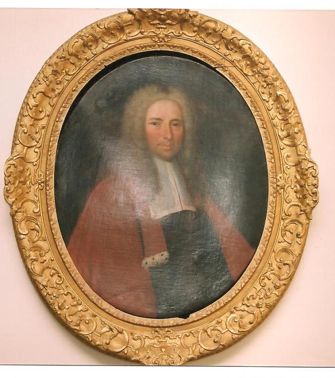 Hyacinthe Rigaud (atelier ?) : Jacques Hardouin-Mansart, vers 1701, coll. privée, cl. Ph. Cachau)