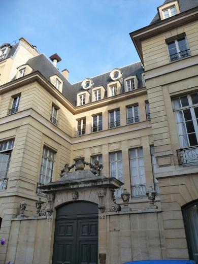 Hôtel de Flesselles, 52 rue de Sévigné, Paris