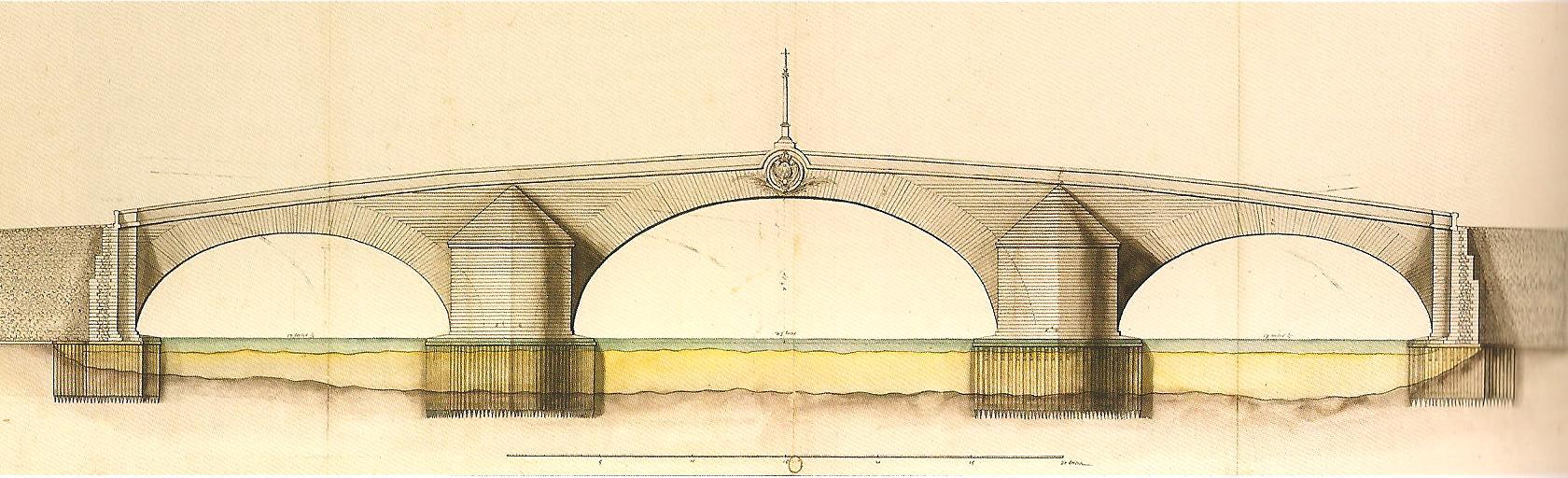 Jules Hardouin-Mansart, pont de Moulins, 1705