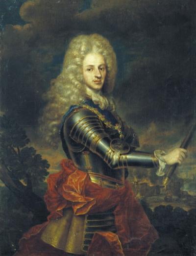 Nicola Vaccari, Philippe V d'Espagne, vers 1715, Madrid.