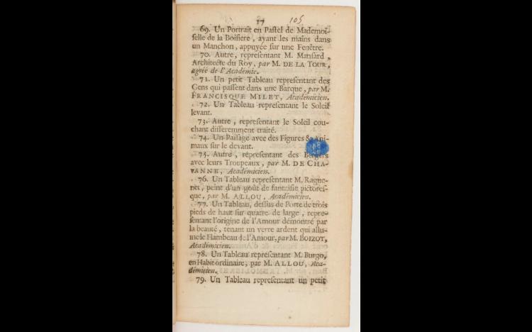 Livret Salon de 1738, p 17.