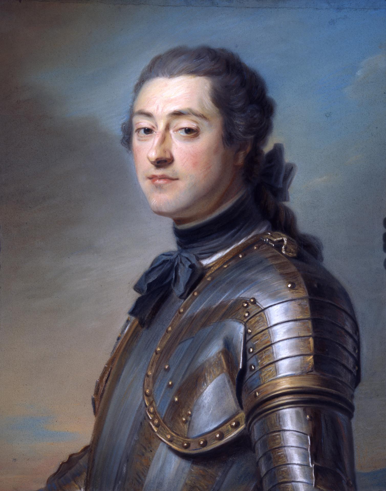 Maurice-Quentin Latour : Marc-René de Voyer d'Argenson, marquis de Voyer, 1751, Saint-Quentin