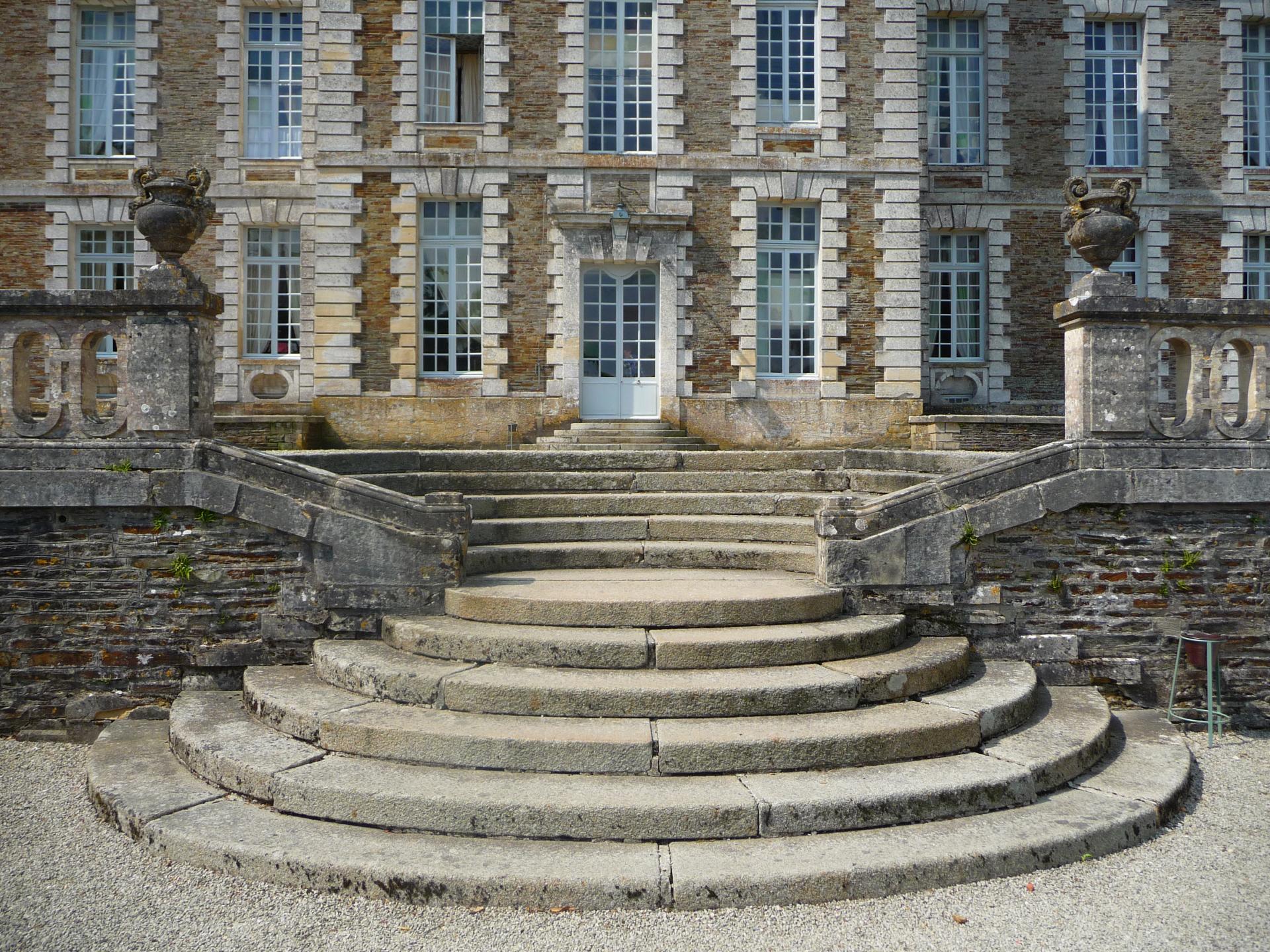 François Mansart, château de Balleroy, escalier contreparti, 1631, cl. Ph. Cachau