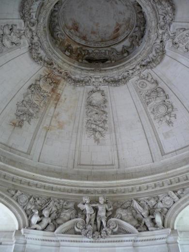 François Mansart, château de Blois, grand escalier