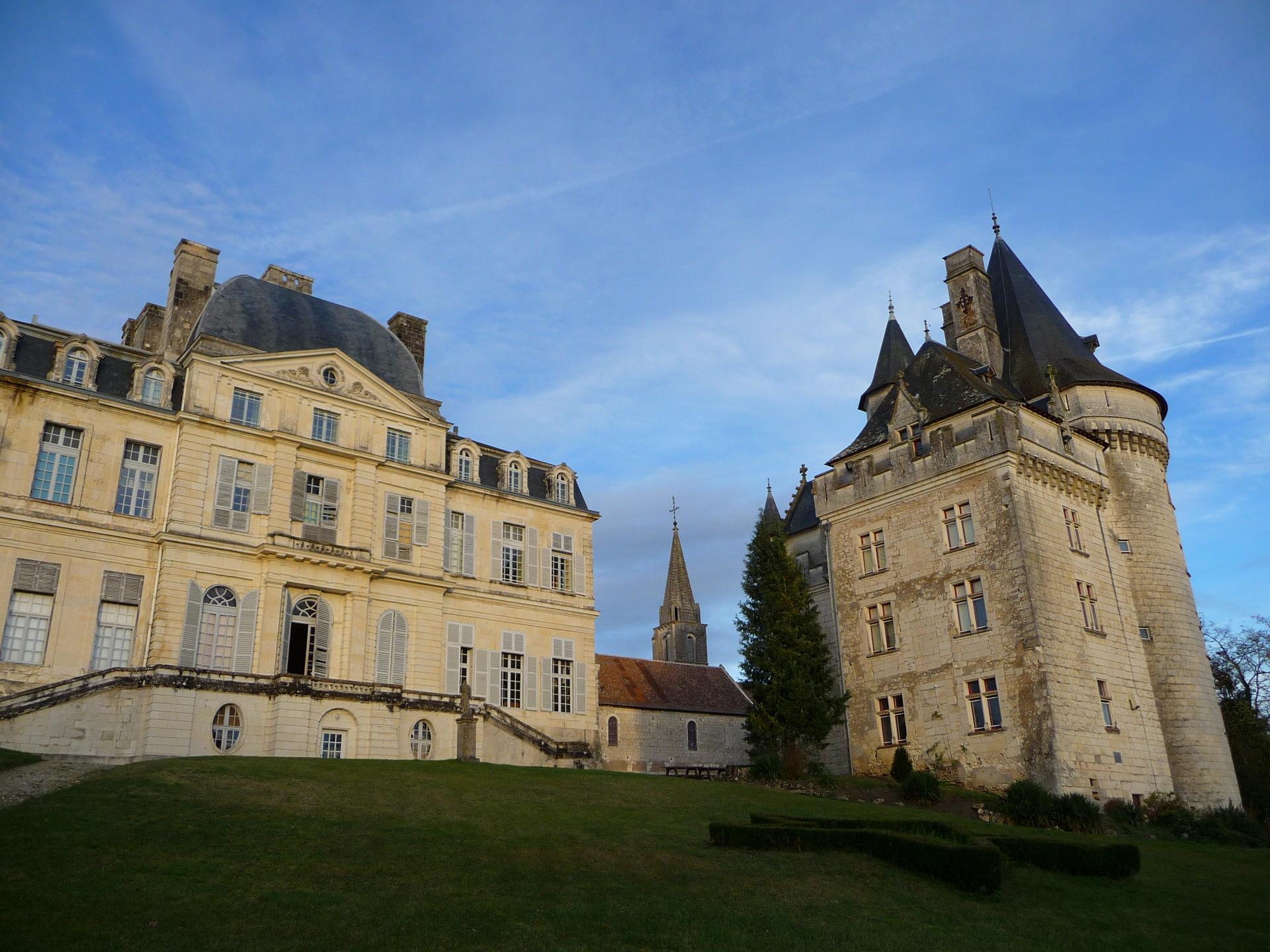 Jean Mansart de Jouy, château neuf de Verneuil-sur-Indre, années 1750