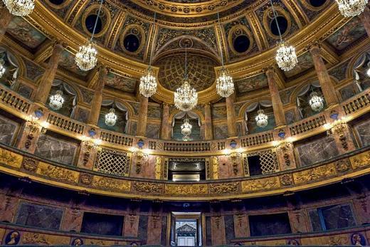 Opéra royal de Versailles, 1768-1770