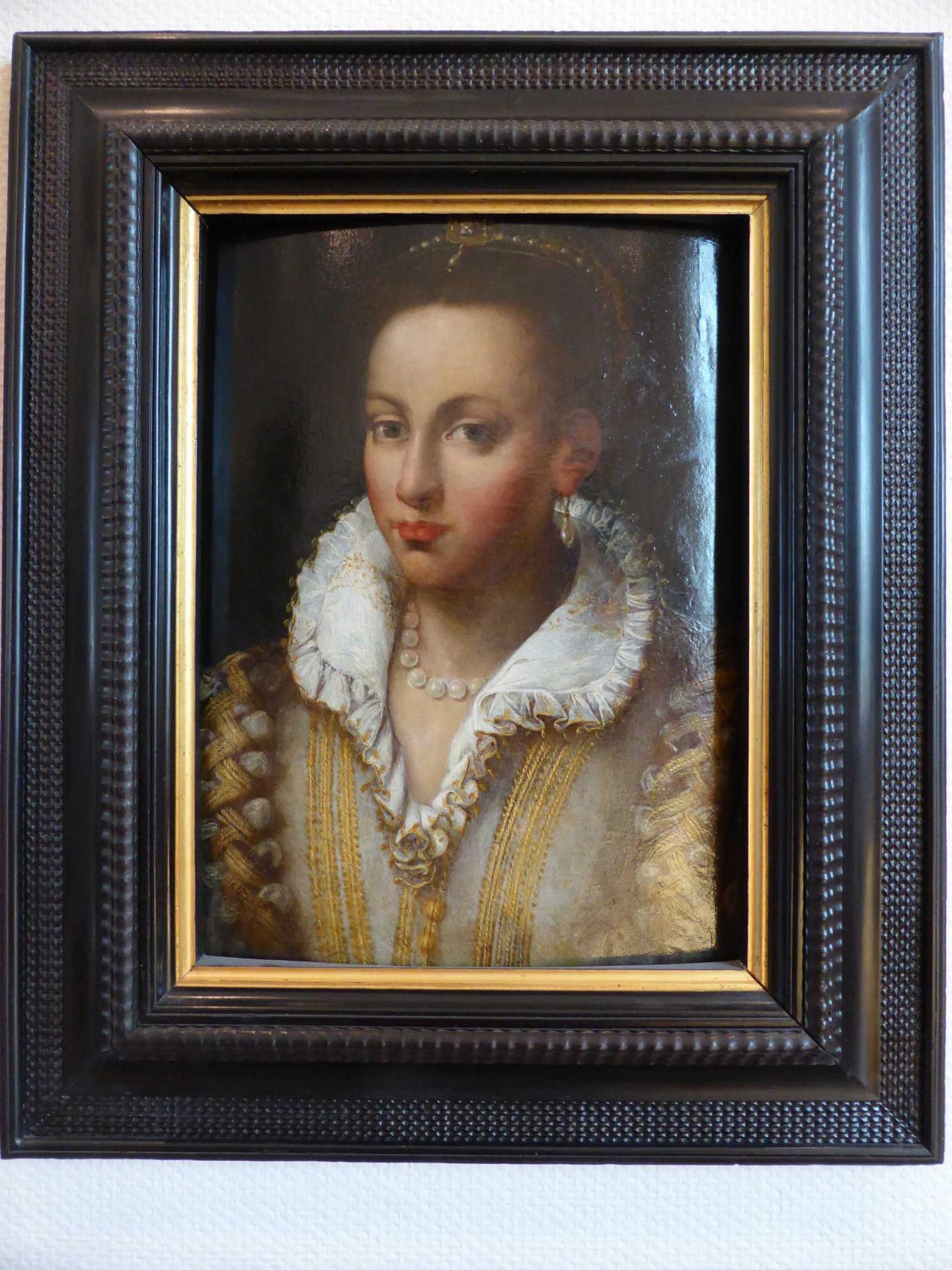 Sofonisba Anguissola, Dame de qualité, XVIe siècle, Libourne, Musée municipal (cl. Ph. Cachau)