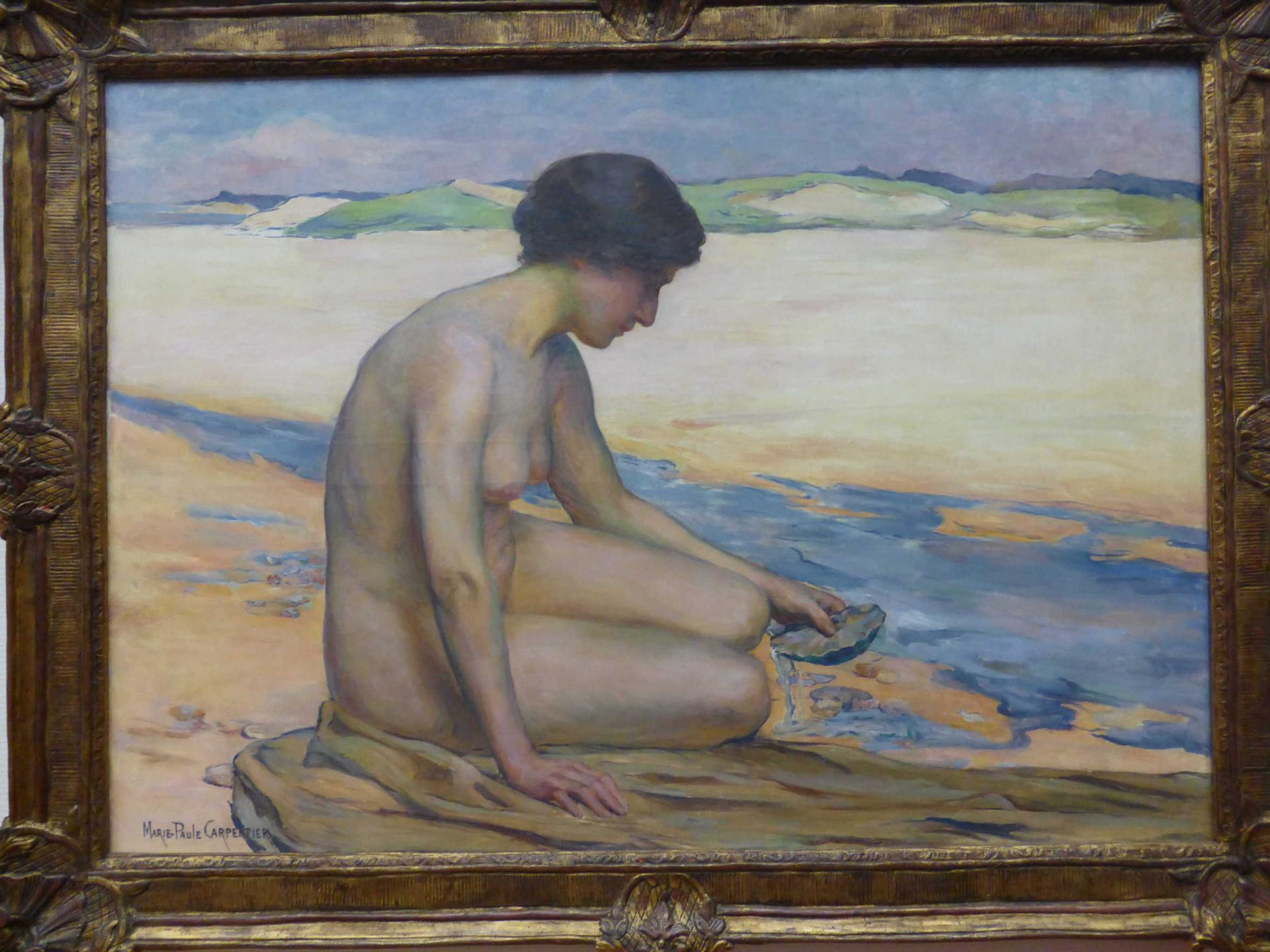 Marie-Paule Carpentier, La Source, 1910, Libourne, Musée municipal (cl. Ph. Cachau)