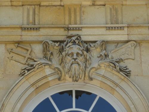 Champlâtreux, avant-corps : Neptune (années 1750)