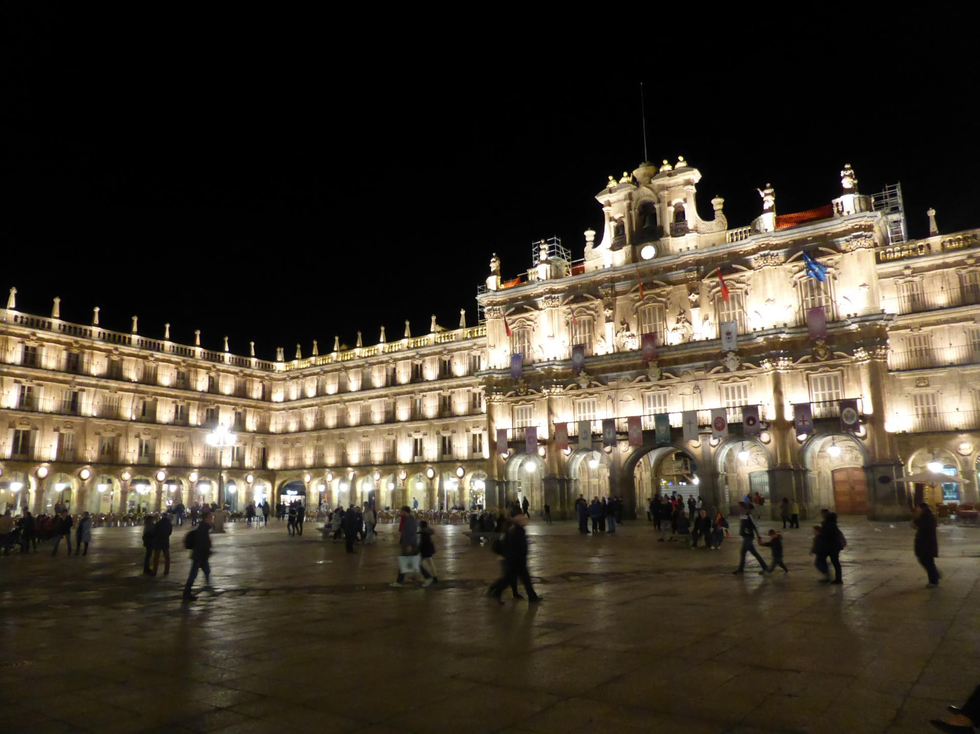 Plaza Mayor, XVIIIe siècle, cl. Ph. Cachau