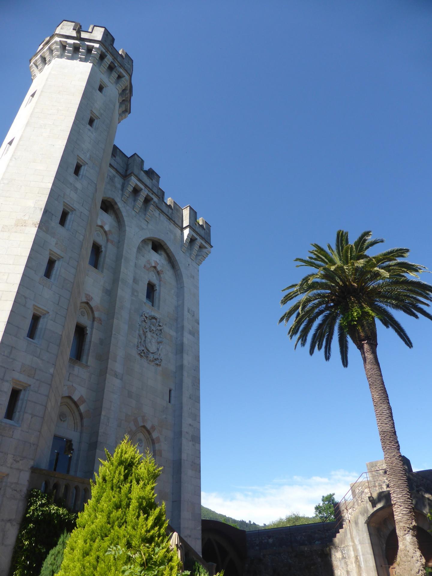 Le donjon depuis la cour du château (cliché Ph. Cachau)