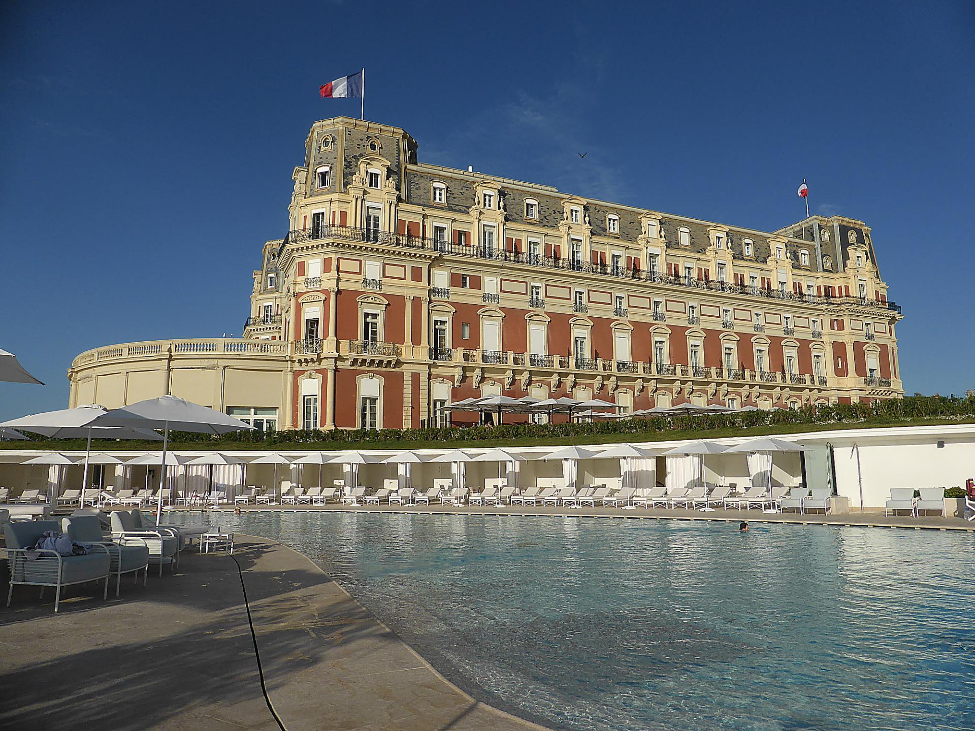 Biarritz, Hôtel du Palais, ancienne résidence impériale, cl. Ph. Cachau