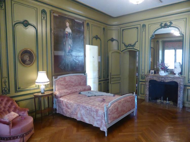 Chambre de Rosemonde, épouse de l'auteur, cl. Ph. Cachau