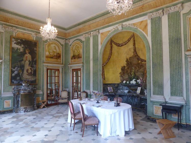 Salle à manger XVIIIe, cl. Ph. Cachau
