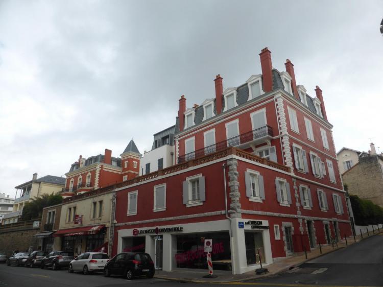 Villas néo-Louis XIV (Louis XIII), autrefois en fausses briques, avenue de la Marne, fin XIXe, cl. Ph. Cachau