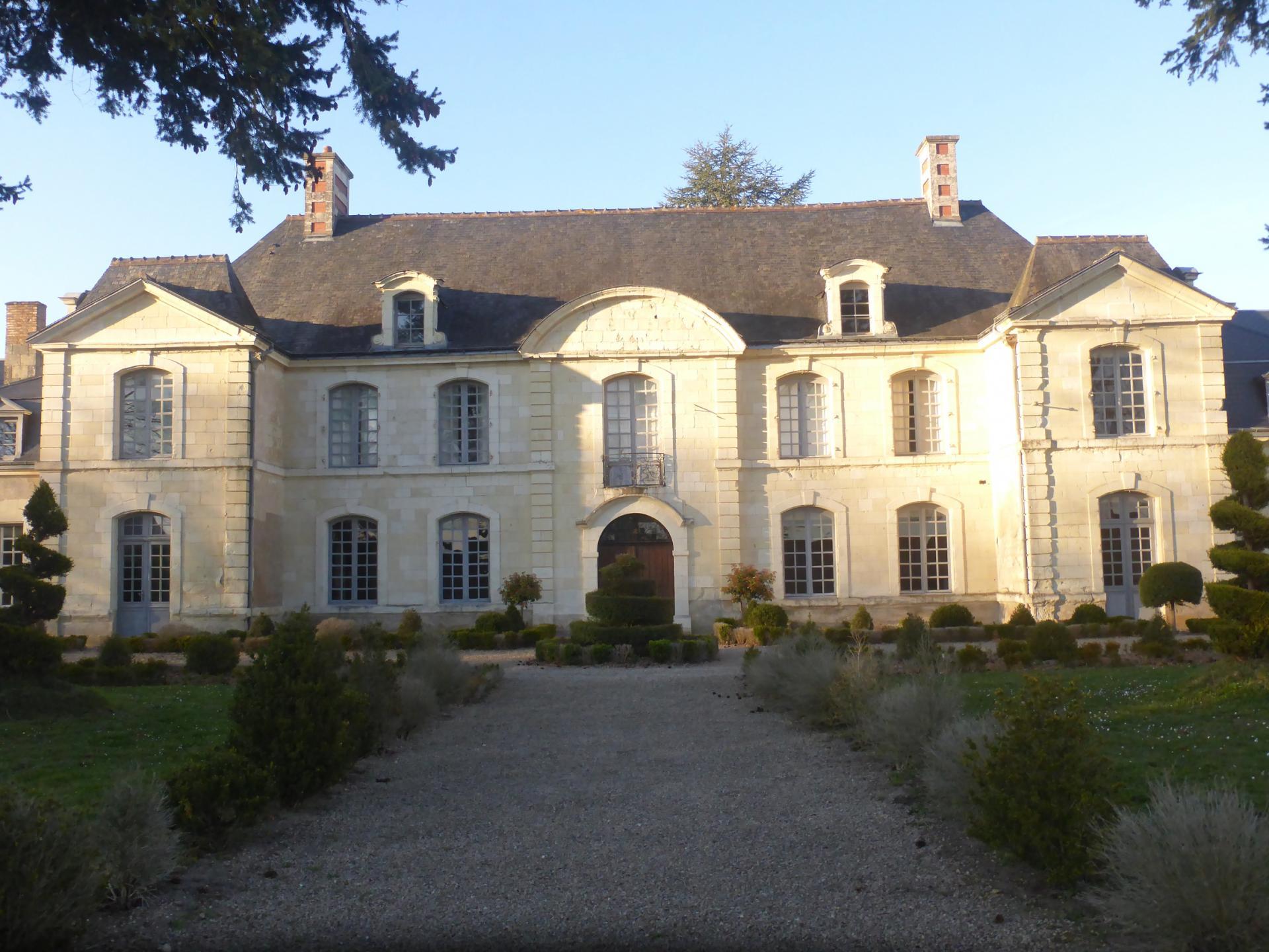 Château de Restigné, XVIIIe siècle, cl. Ph. Cachau