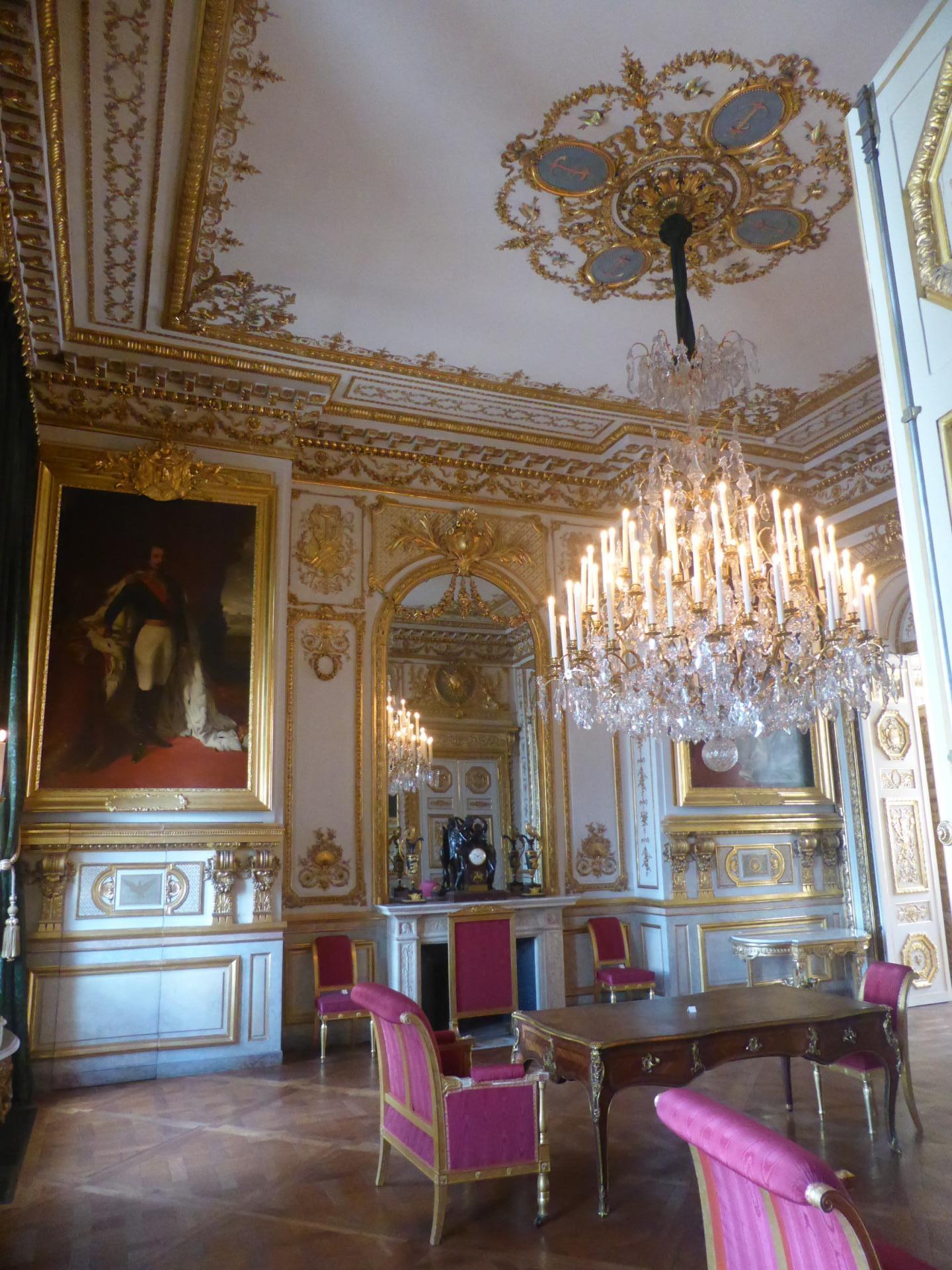 Salon Second Empire sur la place de la Concorde, cl. Ph. Cachau
