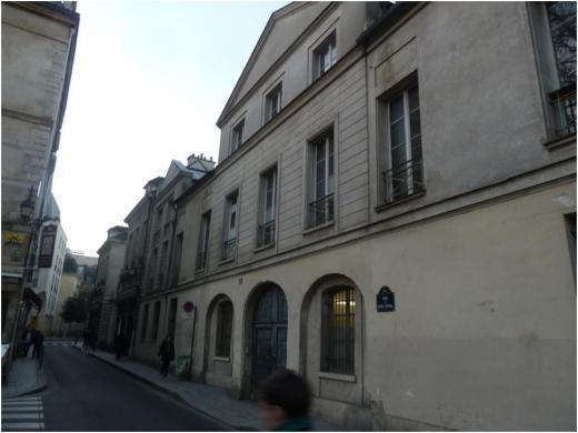 Hôtel de Croisilles, puis Potier de Novion, 12 rue du Parc royal, Paris